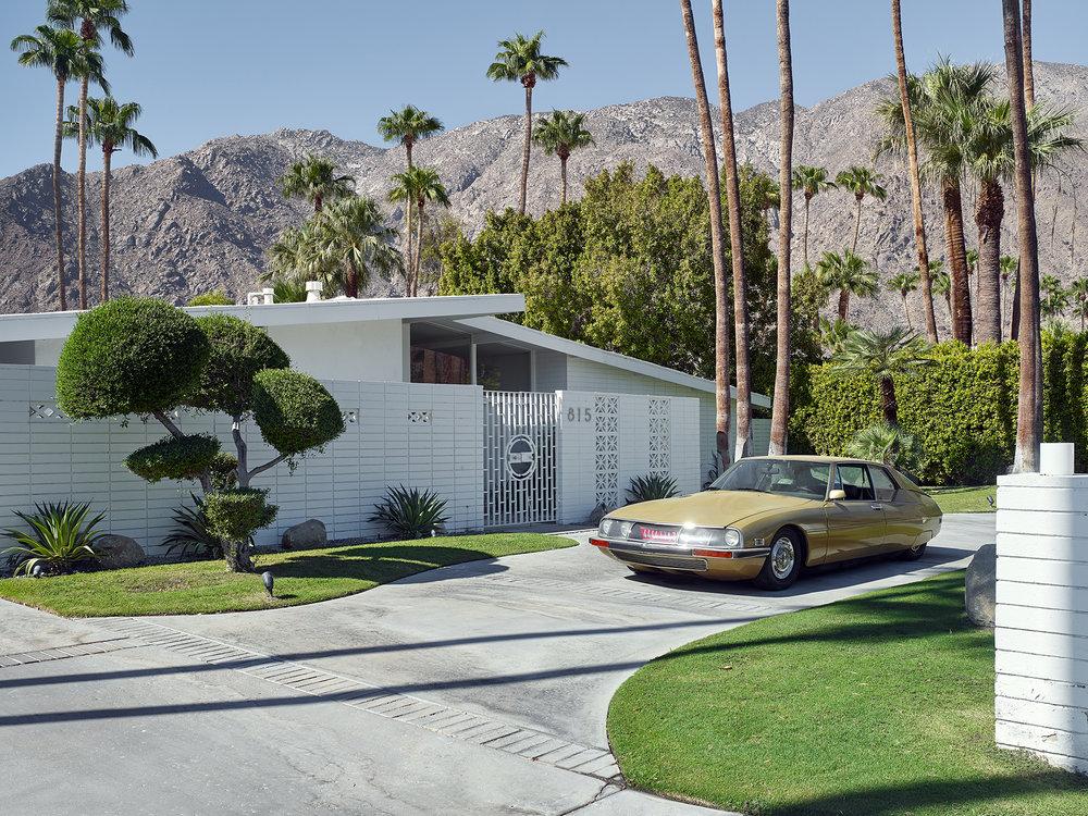 Gold Citroen, Palm Springs #1.jpg