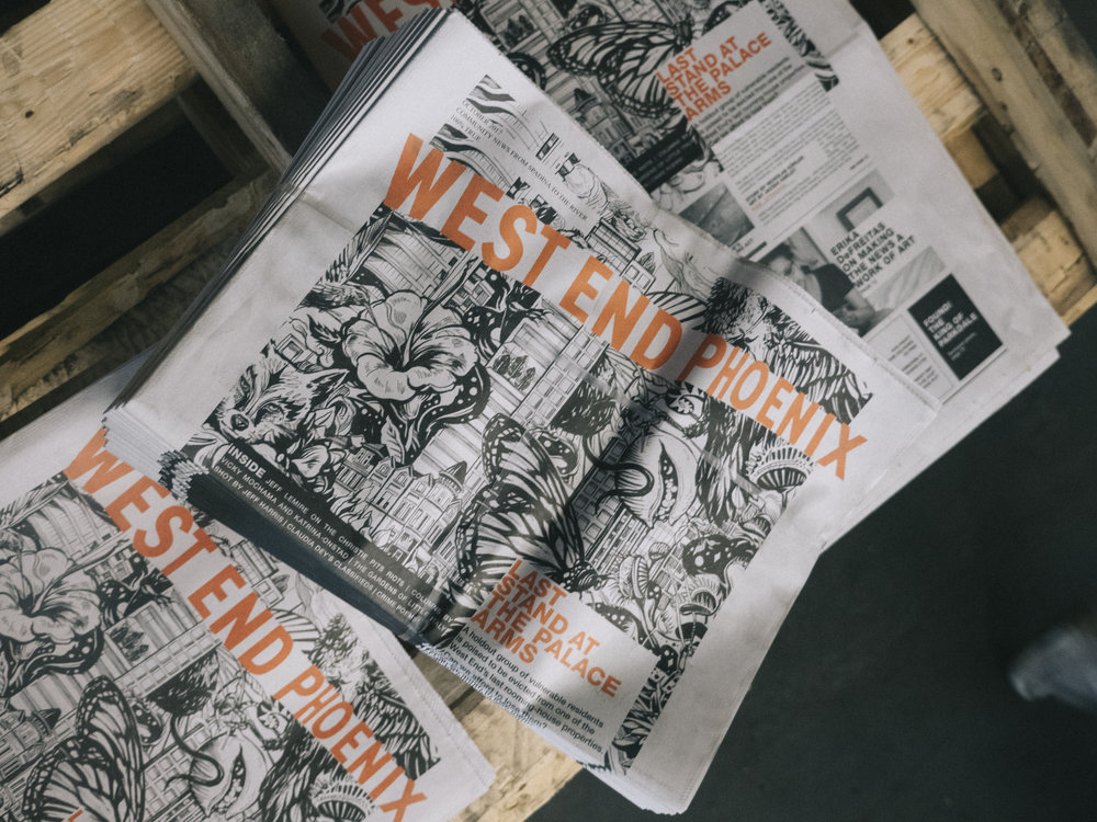BECOME A CONTRIBUTOR - Have a tip or a story idea that you'd like to read about, write, shoot or illustrate? Send it to stories@westendphoenix.com