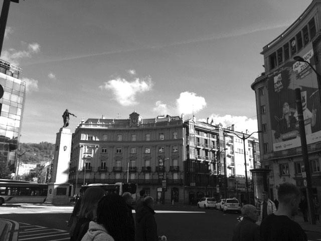 Plaza Circular in Bilbao