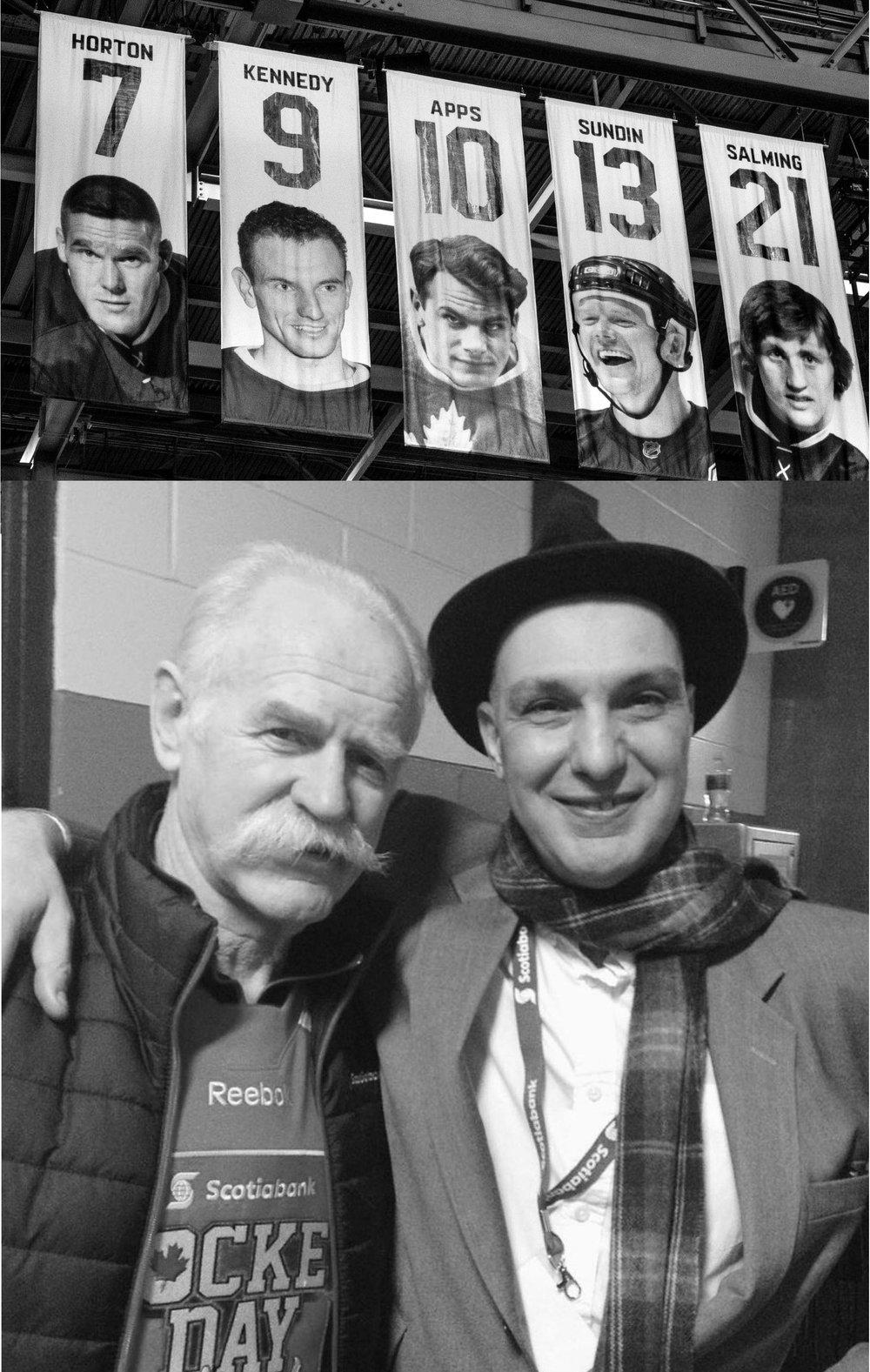 Lanny McDonald & Dave Bidini