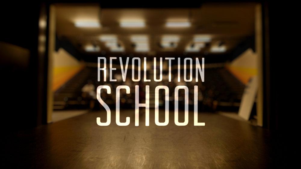 REVOLUTION SCHOOL - DOCUMENTARY SERIES - 2016 - (Modern - Electronic)
