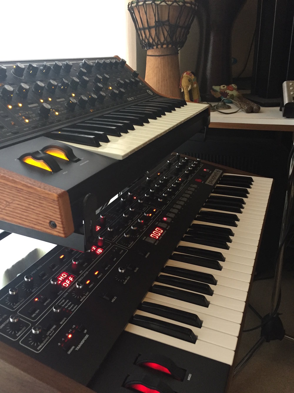 Sub37 and Prophet06