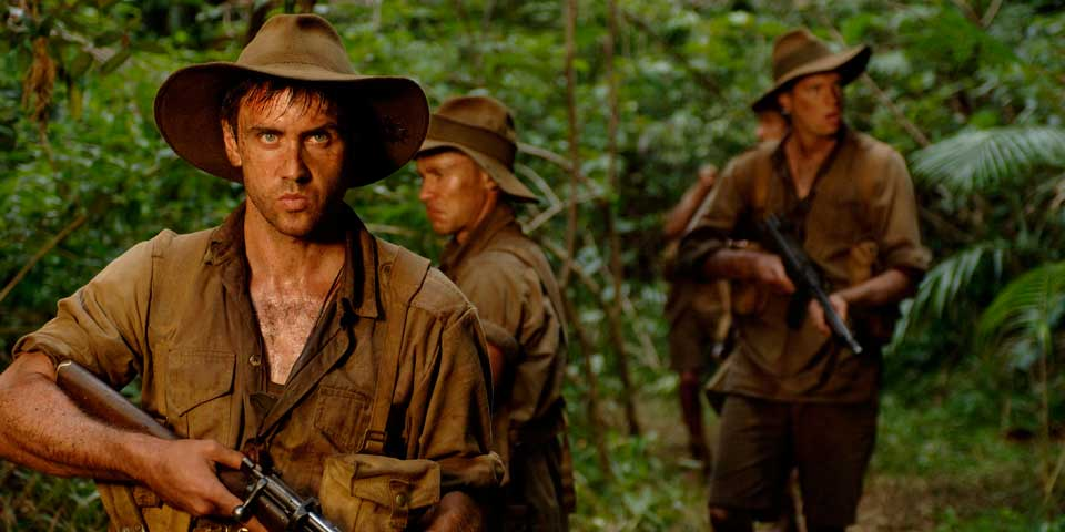 Kokoda - Alister Grierson - Feature Drama - 2006Top10 Highest Grossing Australian Film of the decadeAlister Grierson's feature - 'Kokoda' tells the story of a small band of soldiers who are stranded behind enemy lines in Papua New Guinea during WWII. It explores the horror of battle and the brotherhood and innarticulateness of male communication. More Info