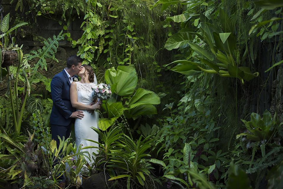 Villa Botanica's ceremony and reception locations