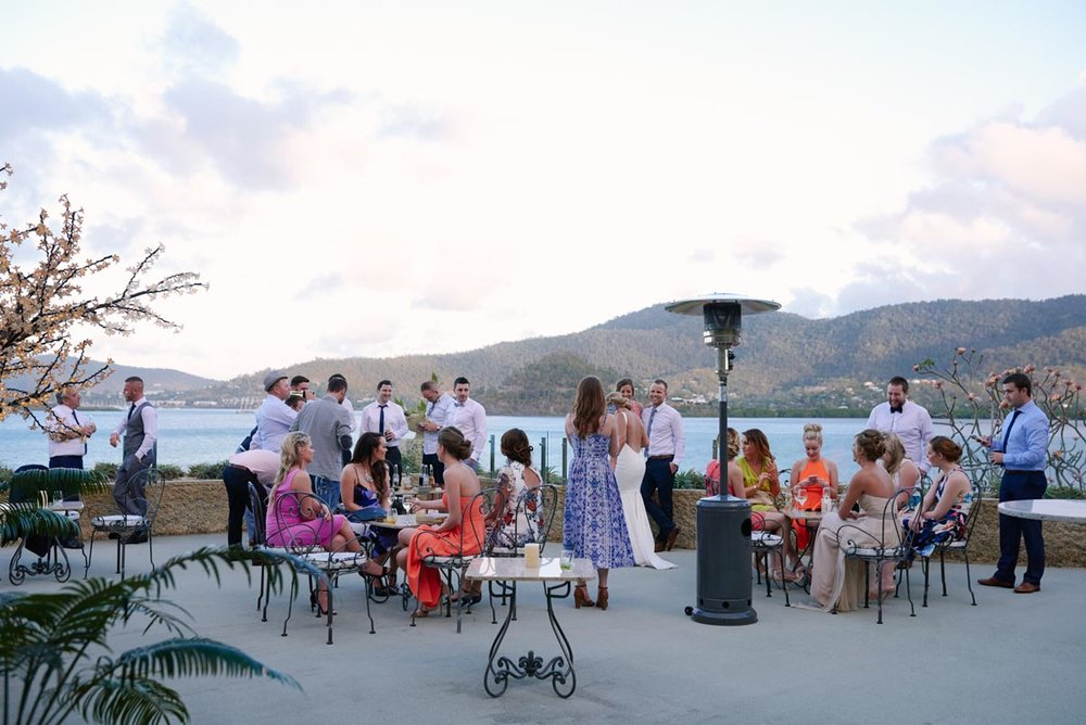 Overlooking the Whitsundays - Enjoy cocktails on the Sea Deck and take in the magnificent views over one of the most beautiful locations in the world.