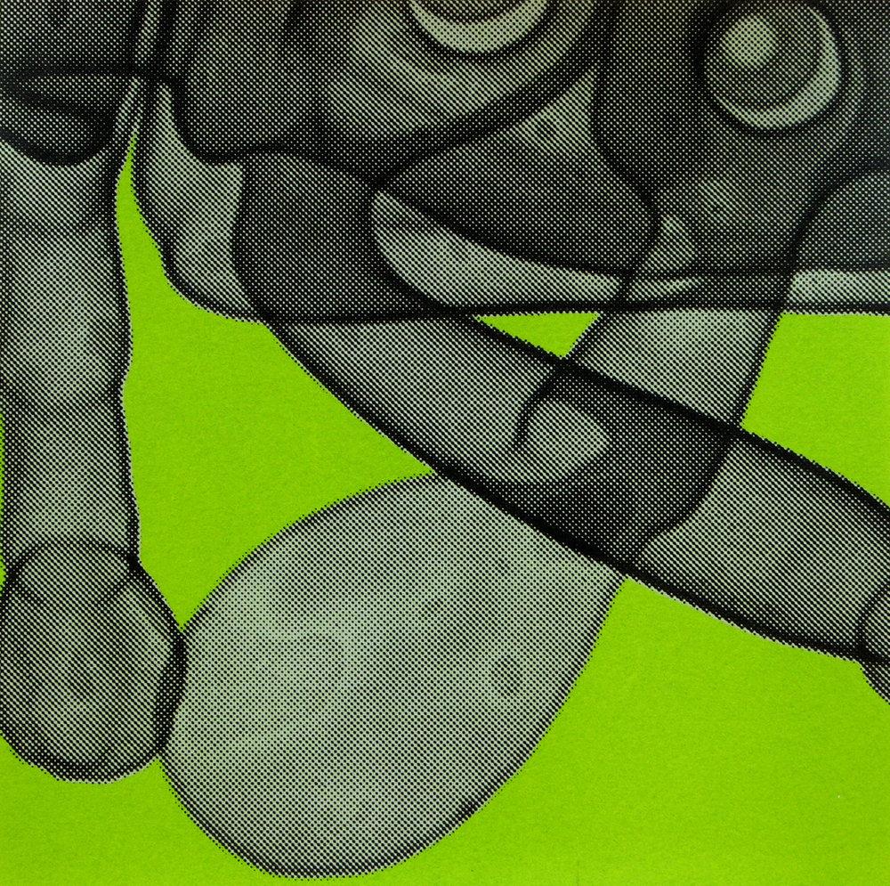 Erica Seccombe, Flipper (green) 2007.