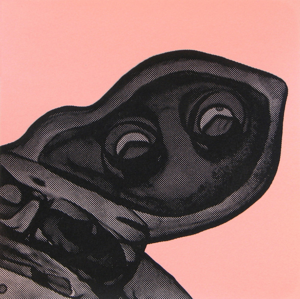 Copy of Erica Seccombe, head (pink) 2007.