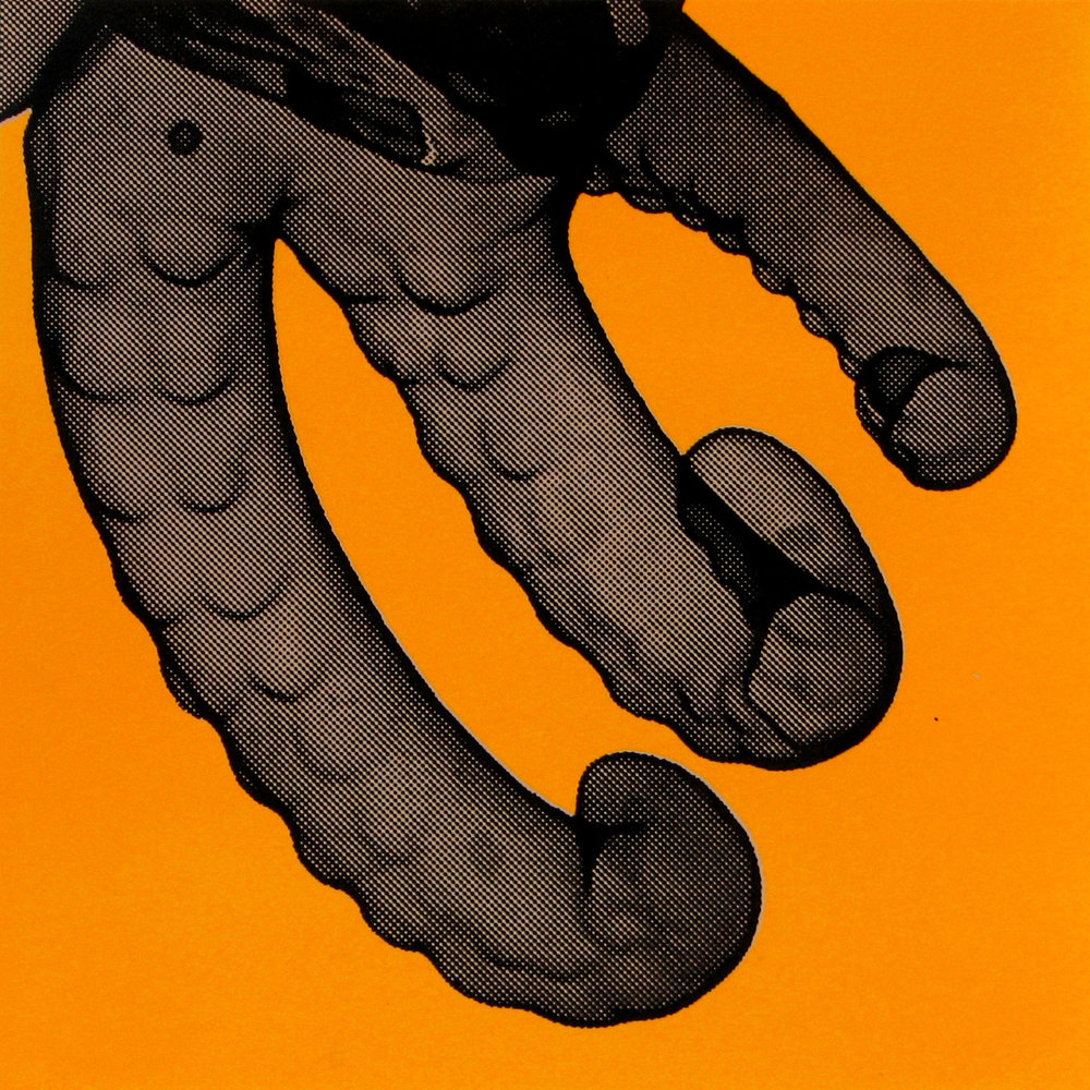 Erica Seccombe, Tentacles (orange) 2007.