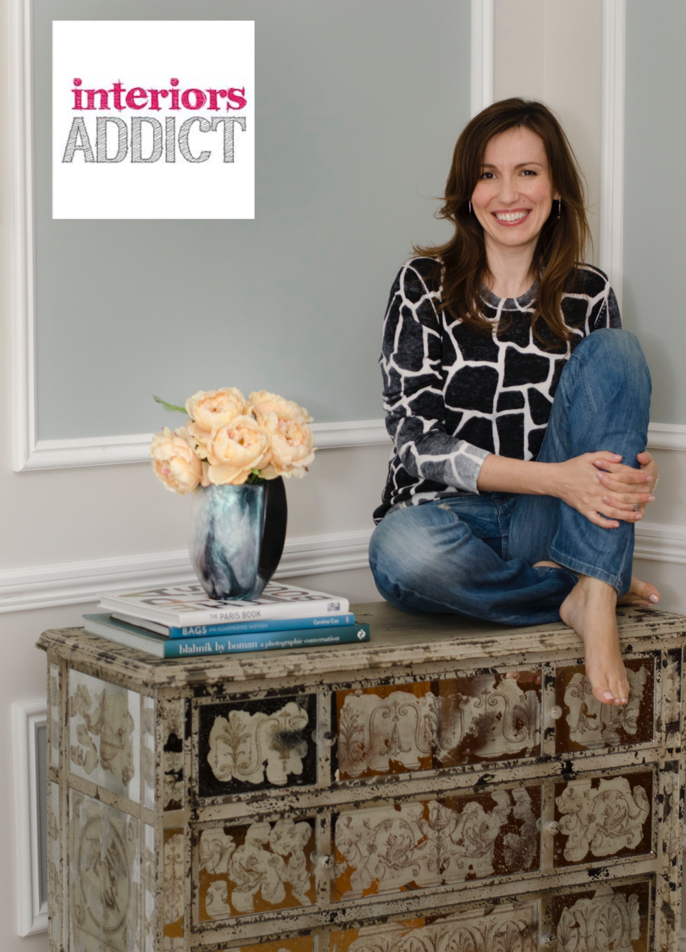 INTERIORS ADDICT  - August 2014  FEATURE: House Tour with Interior Designer Ioanna Lennox