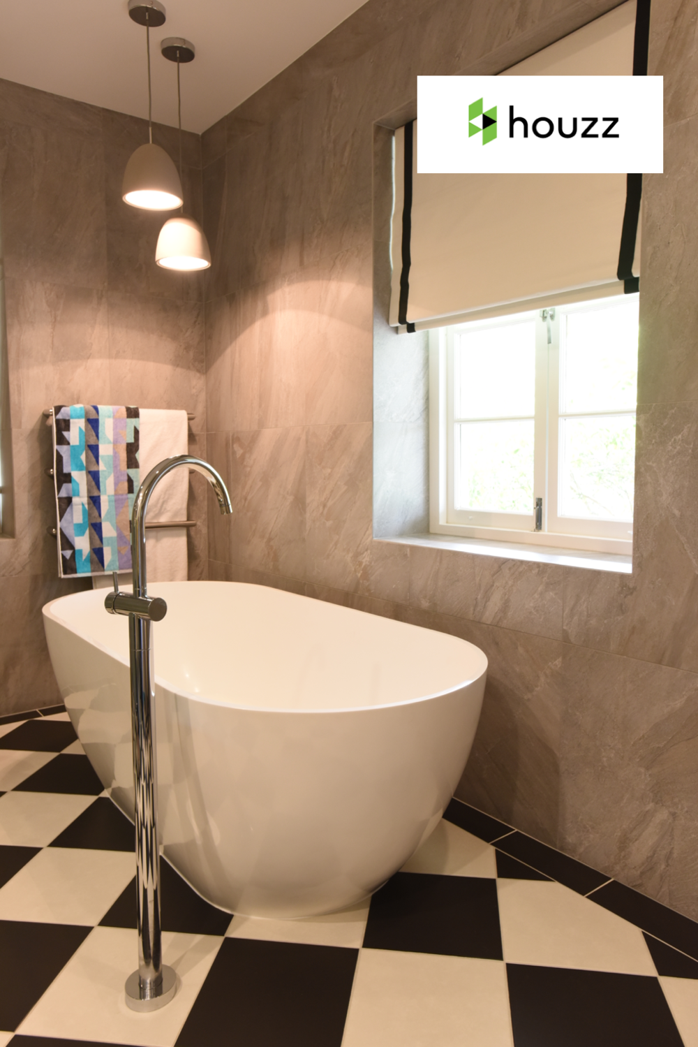 HOUZZ  - May 2016  How the Bathe Like a Parisian