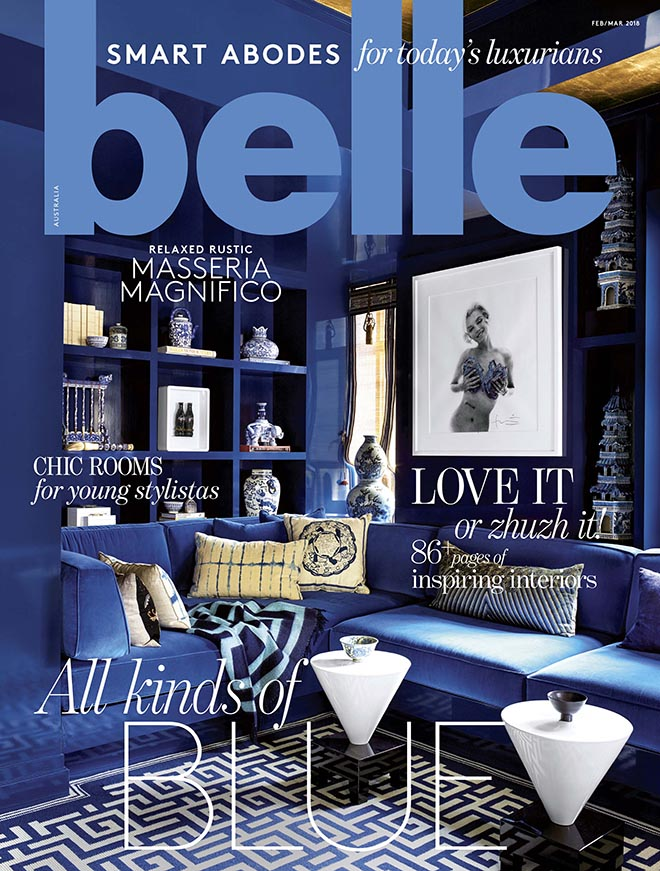 BELLE  - Feb/Mar 2018  SMART SPACES FEATURE: Cloud Nine