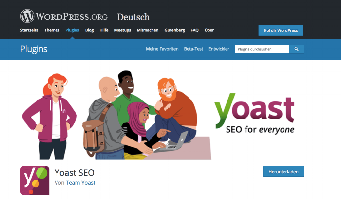 Quelle:  Website Yoast SEO