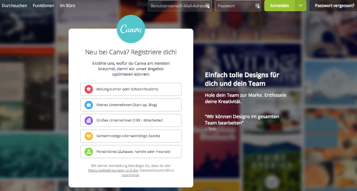 Quelle:  Website Canva