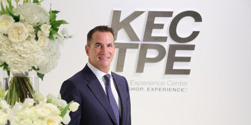 KOHLER總裁兼首席營運長David Kohler現場表示,全新的KEC,提供專業人士無論在世界何處,都有機會透過獨特且更近距離的體驗挑選廚衛產品。