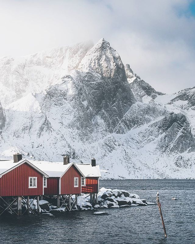 One of the basecamps for our upcoming winter and aurora photography workshops in arctic Lofoten 🇳🇴 www.lofotentours.com  #norway #artofvisuals #aov #wildernessculture #passionforlife #discoverearth , , #nakedplanet #tentree #theglobewanderer #ourplanetdaily #greatnorthcollective #wanderout #LENSbible #stjørdalfoto #EarthOfficial #earthfocus #modernoutdoors #MoodyGrams #AGameofTones #visualsoflife #earth #lofoten #fujifilm  Captured with @fujifilmnordic X-T2 and 16-55mm f/2.8