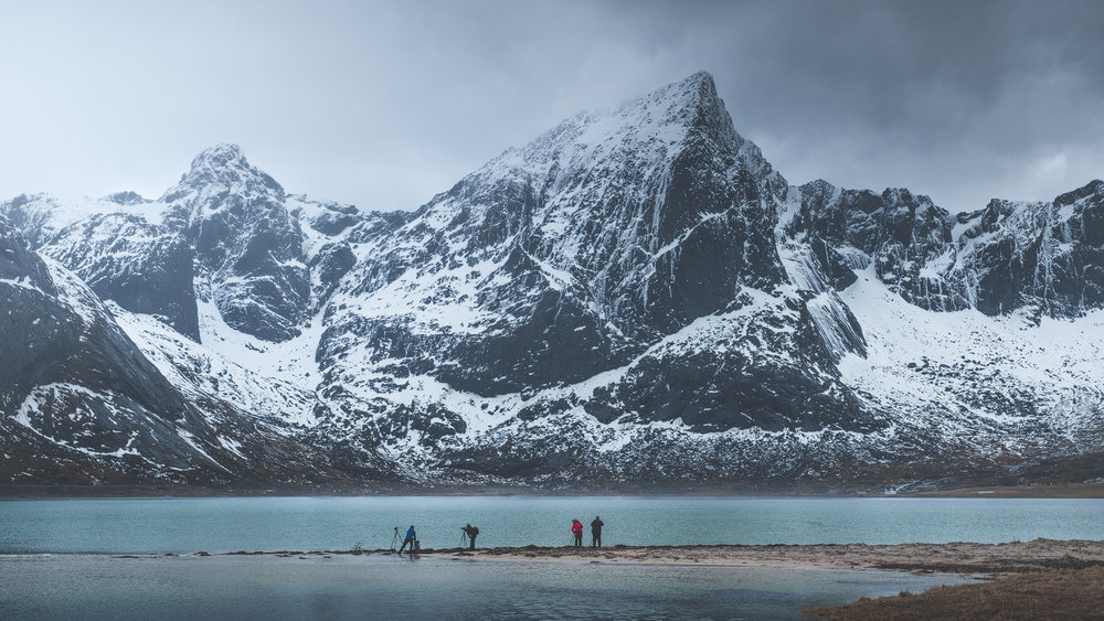 Flakstadpollen, Lofoten