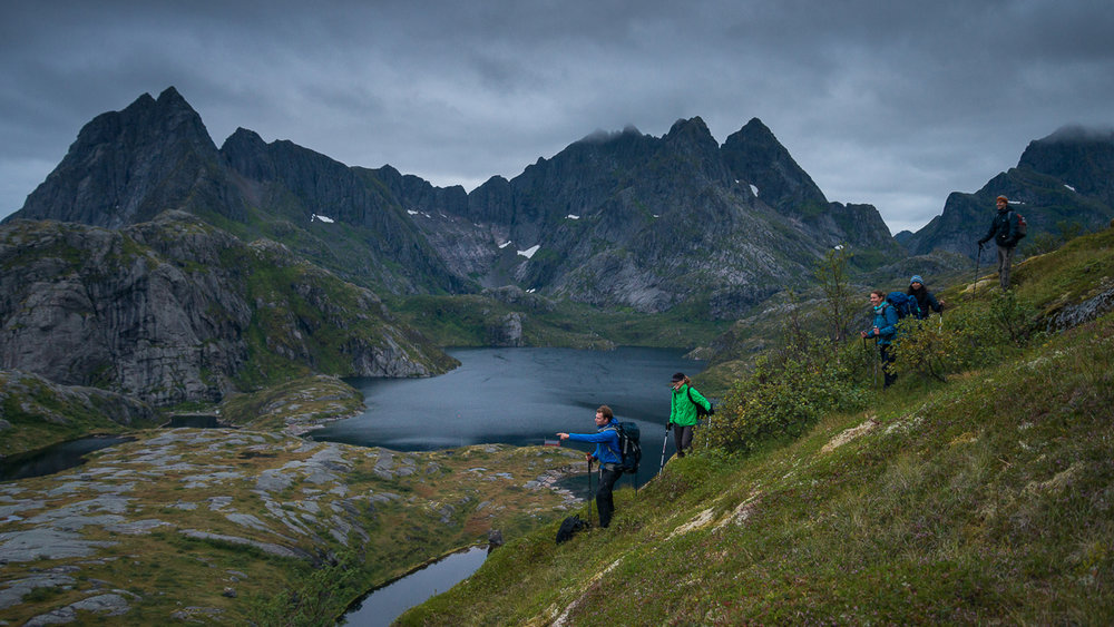 Getting away from the crowds, Lofoten