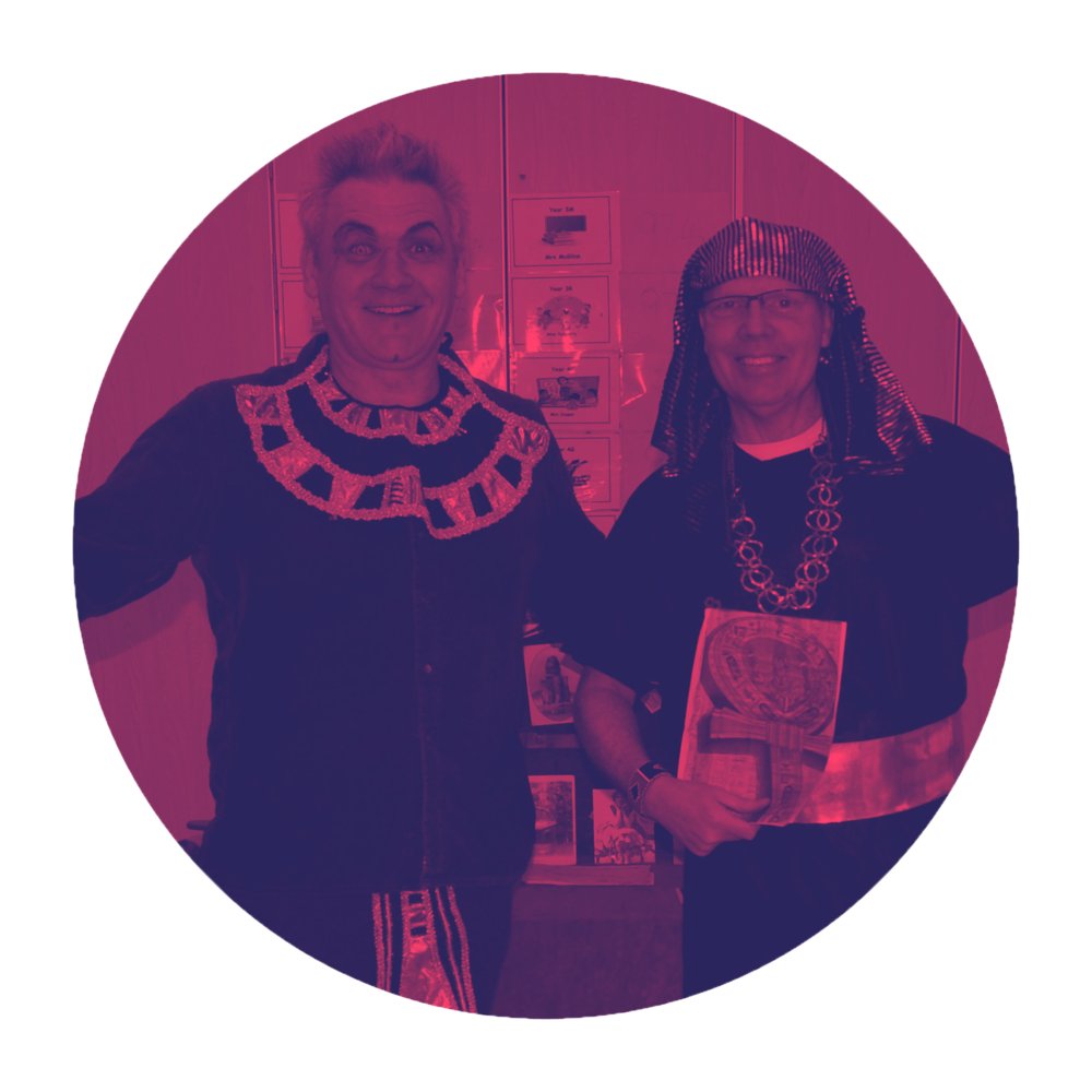 Terry and Andy regularly perform at the Edinburgh Fringe Festival to packed houses with their winning combination of poetry and magic. -