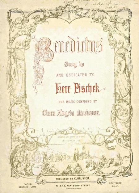 Copy of Clara's Benedictus