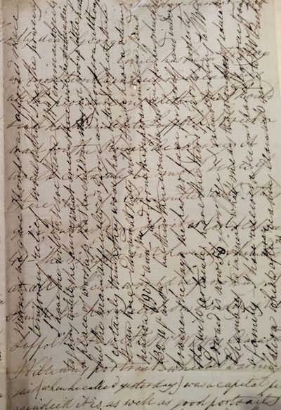 Copy of Letter from Mary Ann