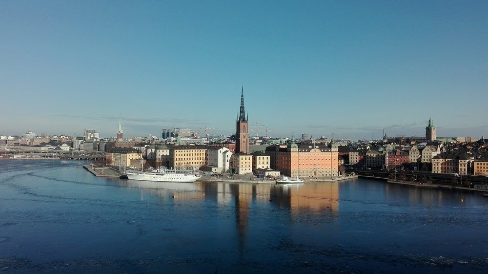 Stockholm, capital city of Sweden, set amongst an archipelago of some 30,000 islands.