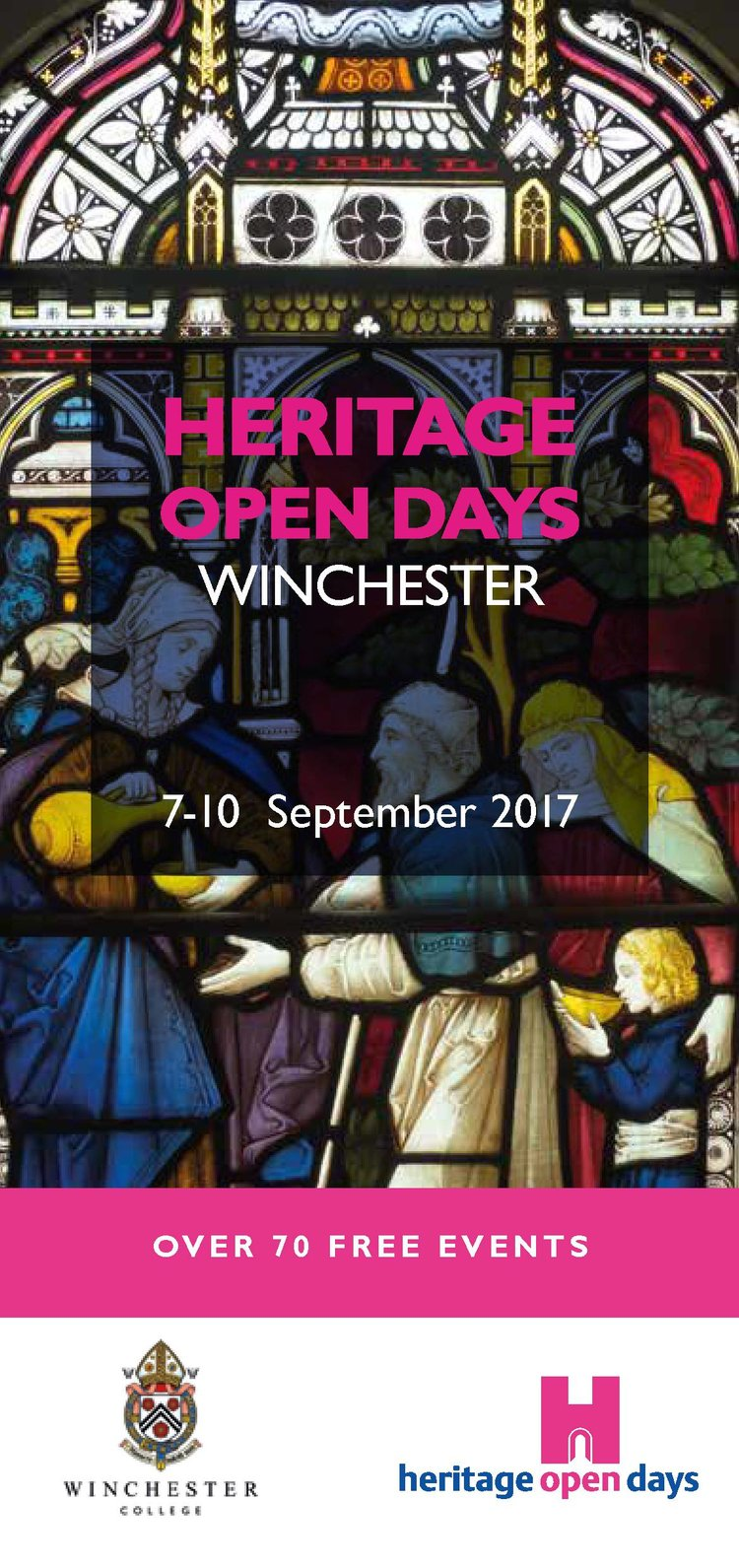 Winchester Heritage Open Days 2017 programme cover
