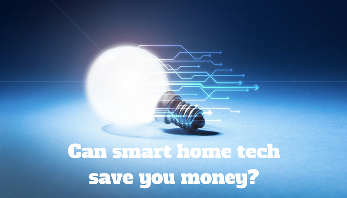 Saving money with smart home technology