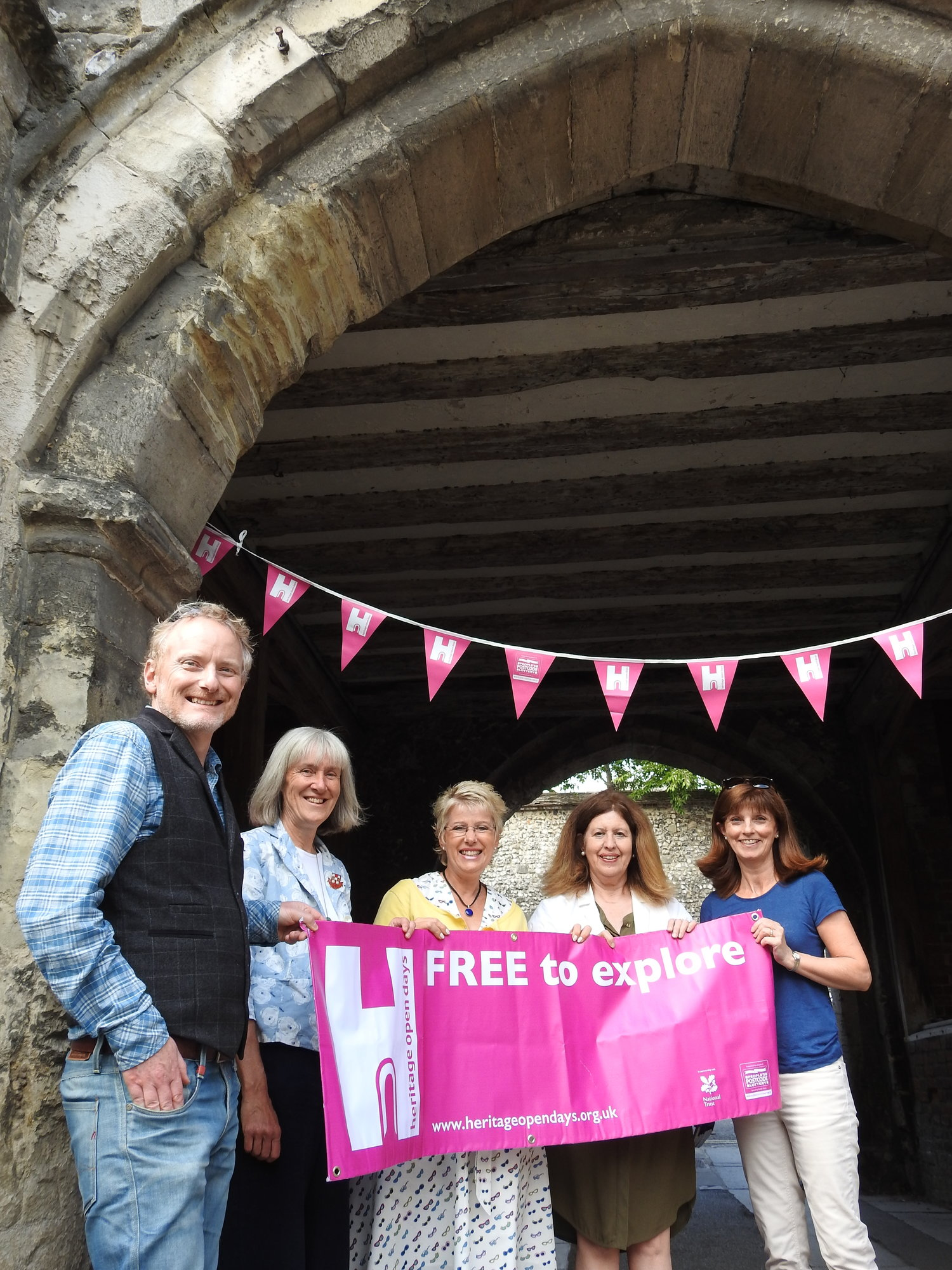 How Winchester Heritage Open Days was created