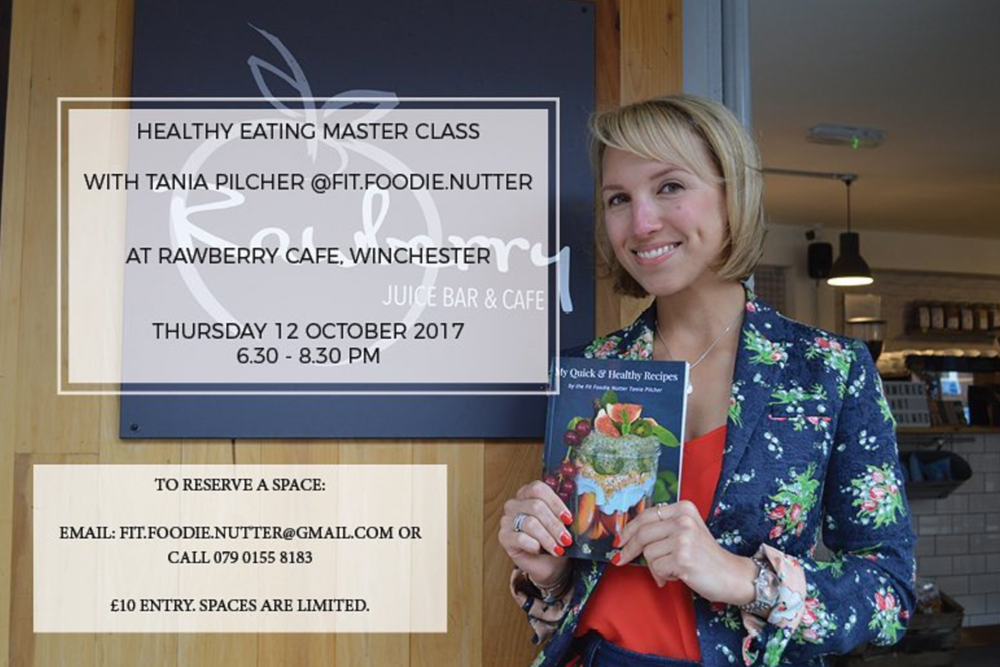 FitFoodieNutter announces Rawberry event
