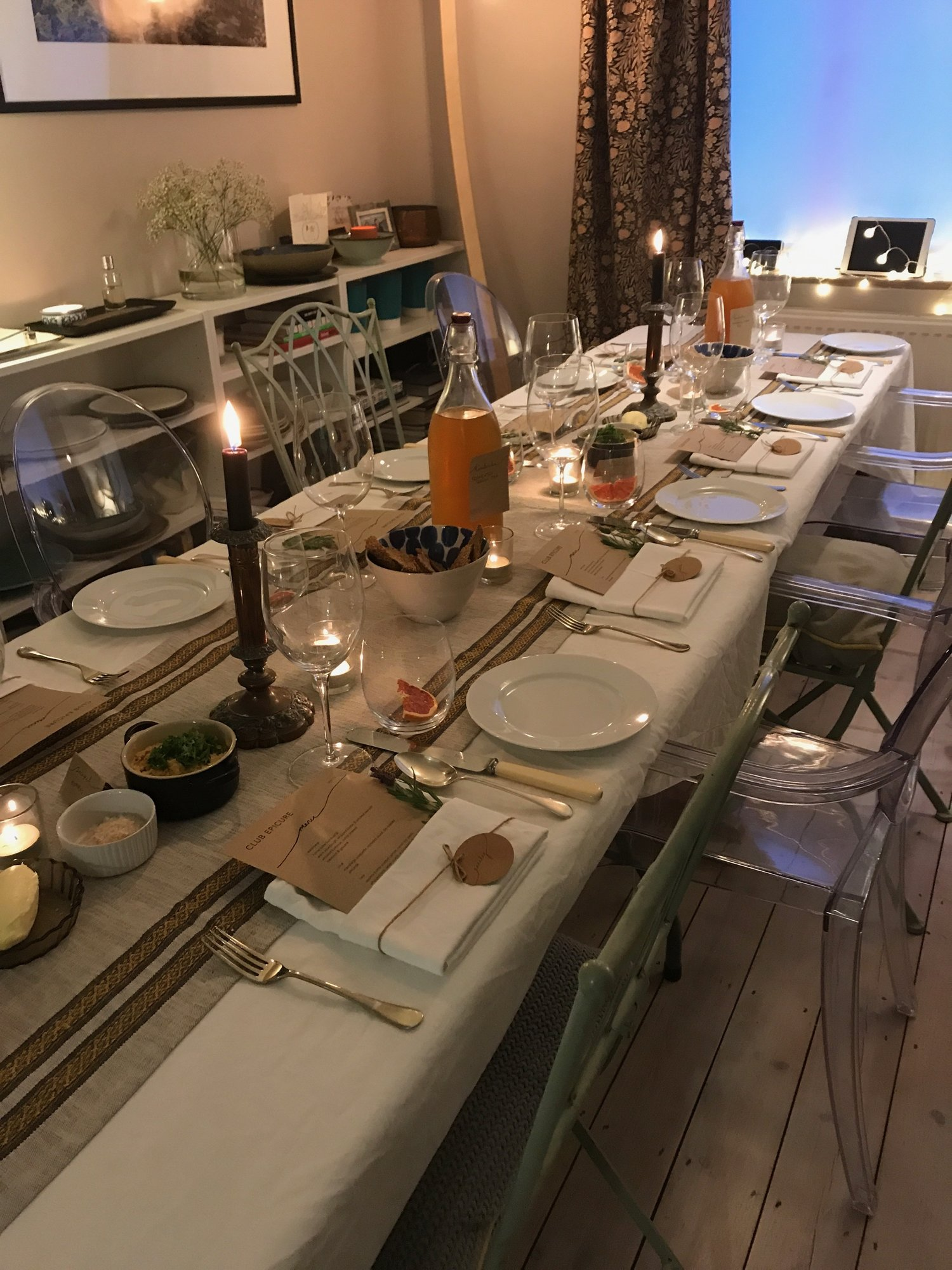 Club Epicure: Winchester's new exclusive supper club