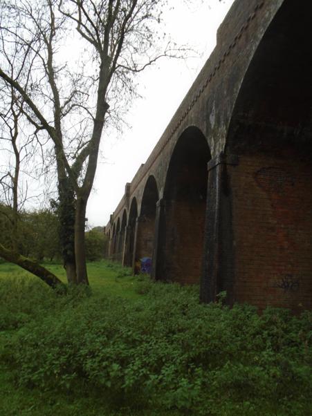 Motorway arches