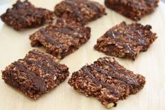 Chocolate and seed flapjack