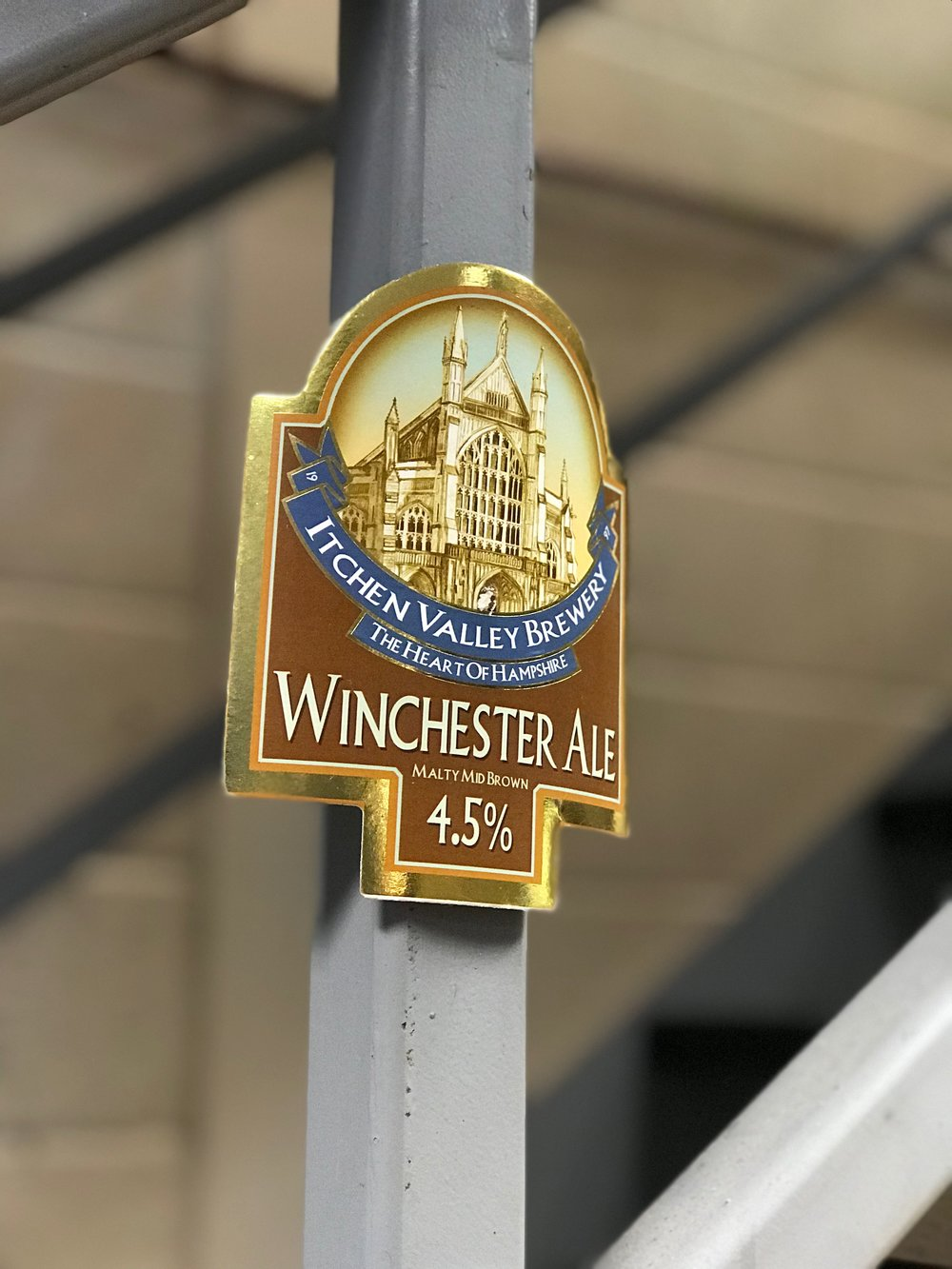 Glad to see the Winchester Ale