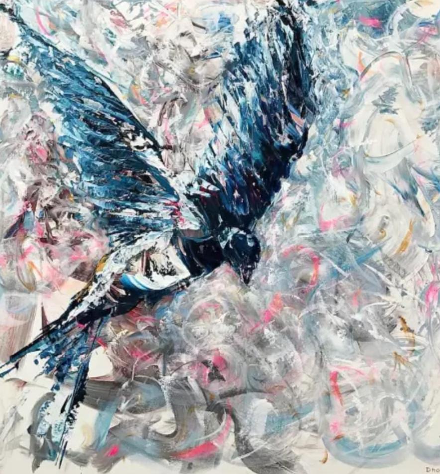 The Swallow, Daniel Hooper Art
