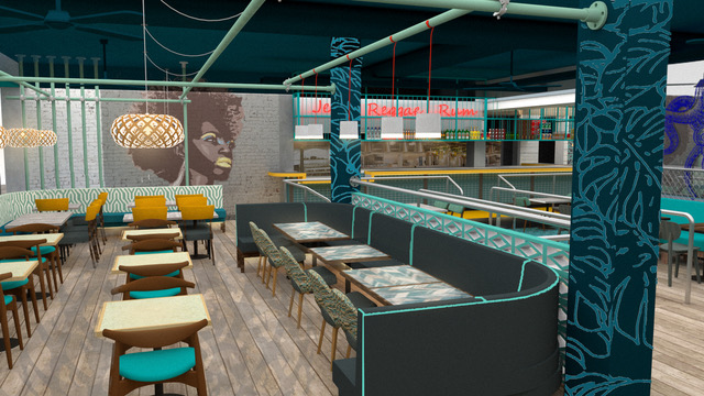 Radical, laid back decor for Turtle Bay Winchester