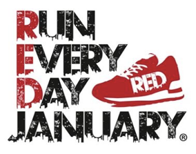 RED Run Every Day January