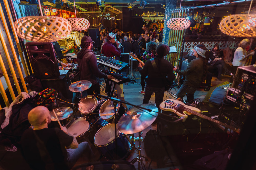 The two bands were spot on for Turtle Bay launch night