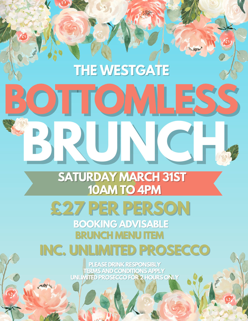 The Westgate Bottomless Brunch