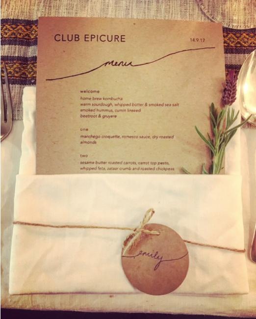 Club Epicure