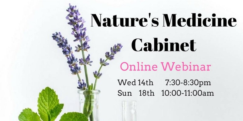 Nature's Medicine Cabinet online webinar
