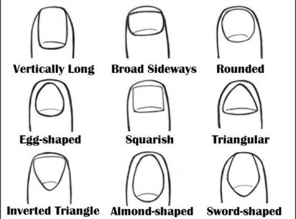 Sarah Bacchus nail shape