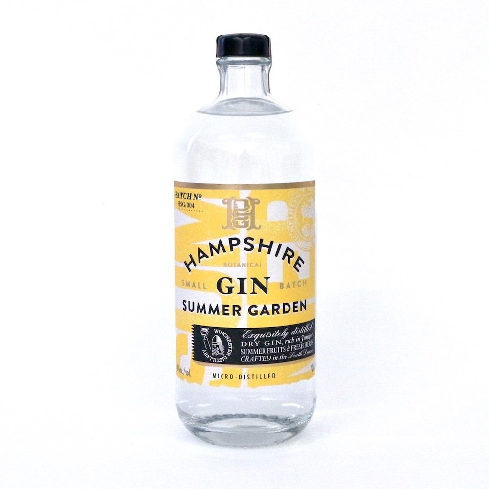 Summer Garden special edition gin from Winchester Distillery
