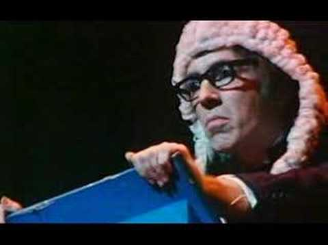Peter Cook at the Secret Policeman's Ball