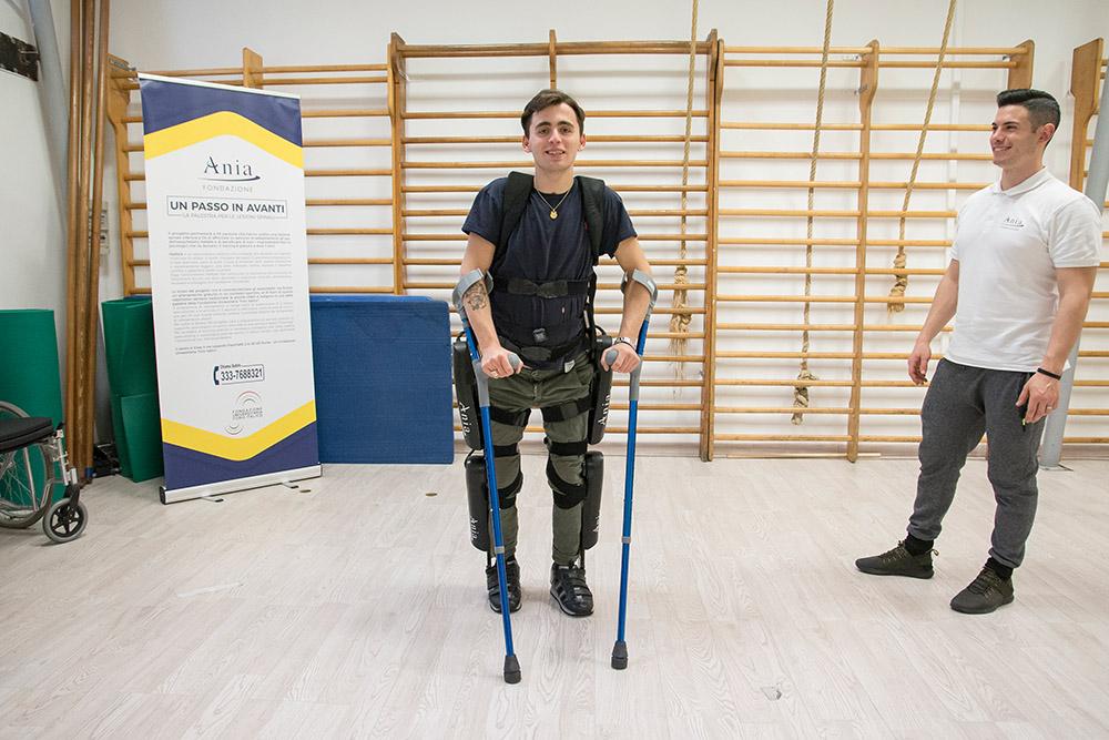 La palestra per chi ha subito una lesione spinale -