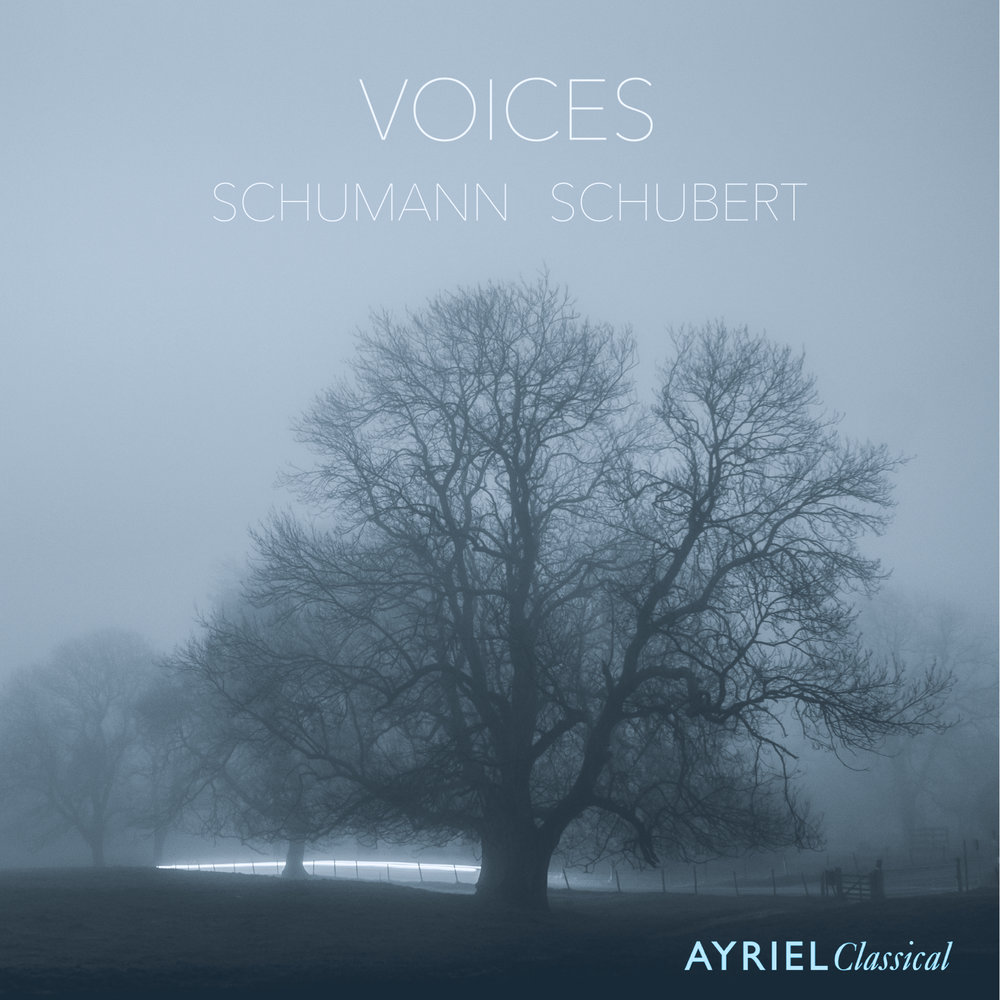 Released in October 2017 - two complementary masterpieces sit alongside one another: Schumann's Frauenliebe und -leben (Anna Huntley and Adam Johnson) and Schubert's 'Arpeggione' sonata (Jamie Walton and Adam Johnson). Available online in a few weeks.