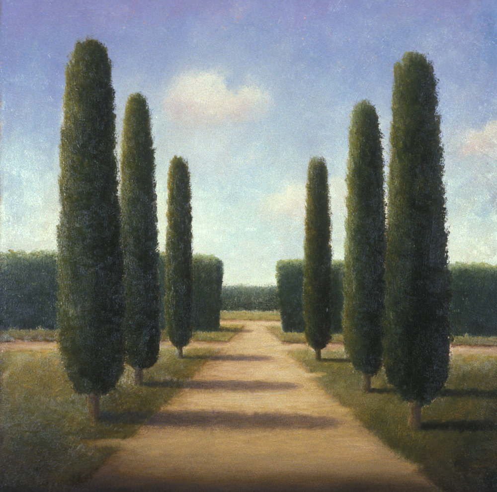 Cypress-lined Vista