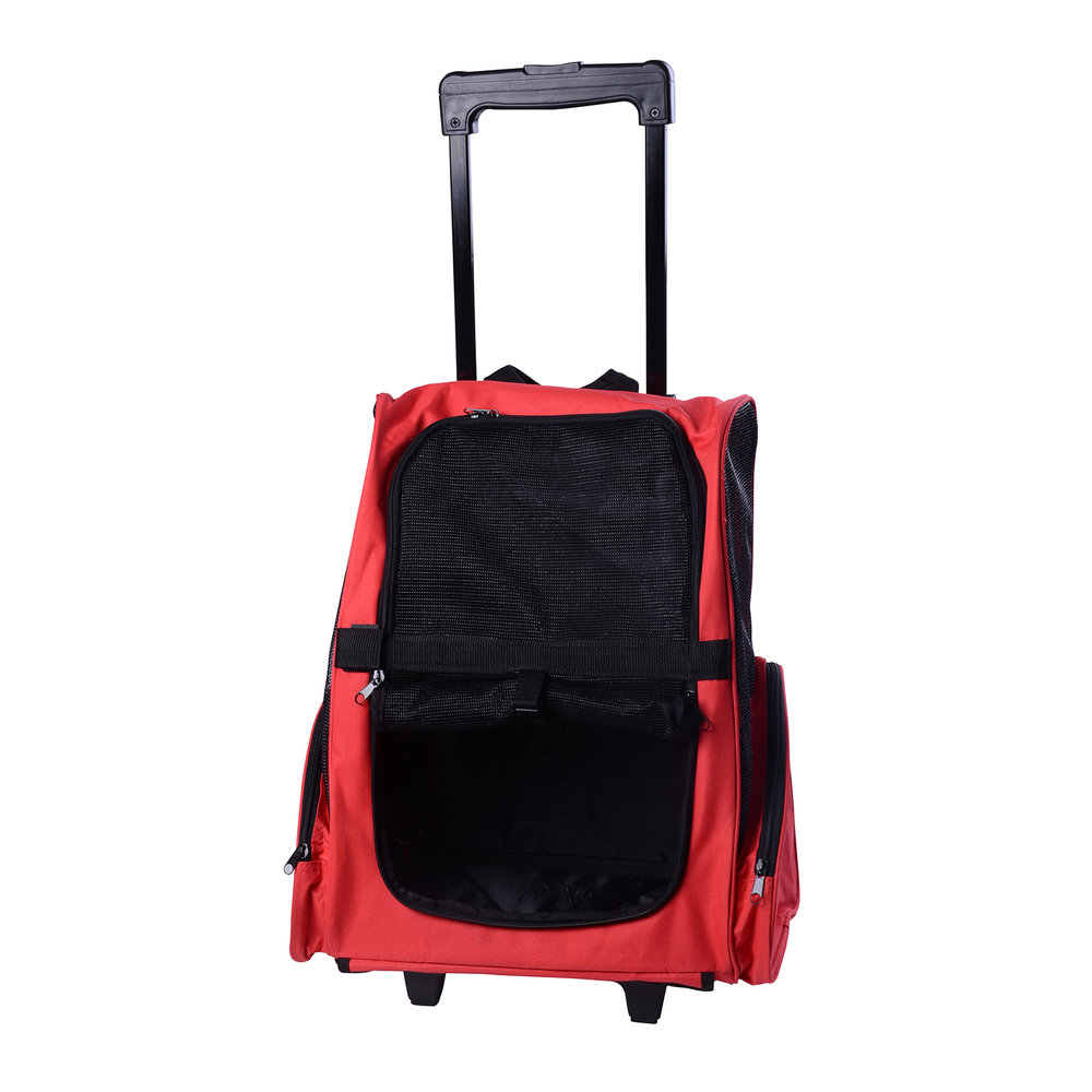 fdd7bf205863 Pawhut Travel Backpack w  Trolley
