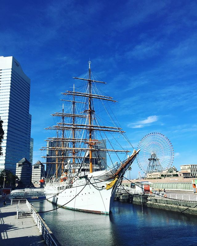 Making port at #yokohama ⚓️