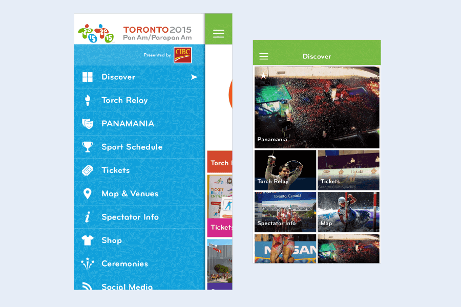Toronto 2015 Pan Am Games App