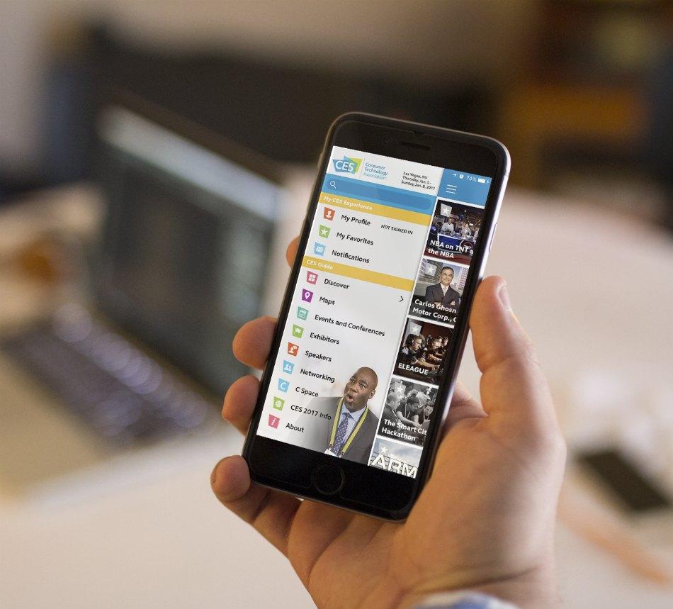 Mobile event app CES